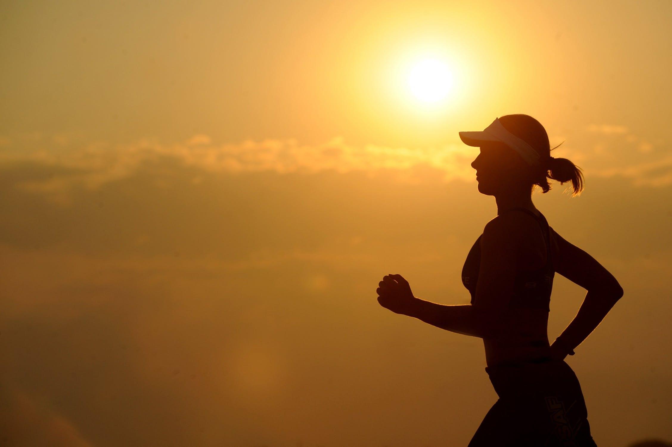 Kvindelig jogger
