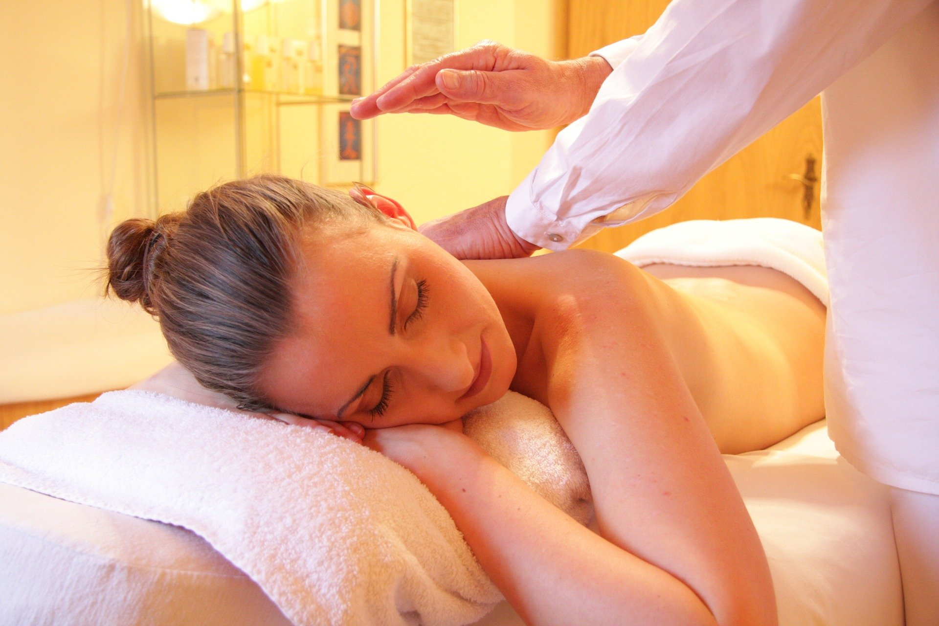Kvinde og massage